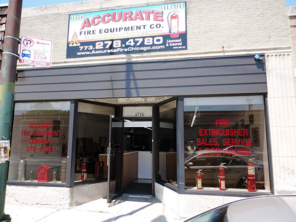Our store is located on Diversey in Chicago