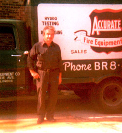 Founder Edward Accurate Fire Equipment